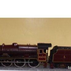 Trenes Escala: LOCOMOTORA CON TENDER ESCALA H0. Lote 88362174