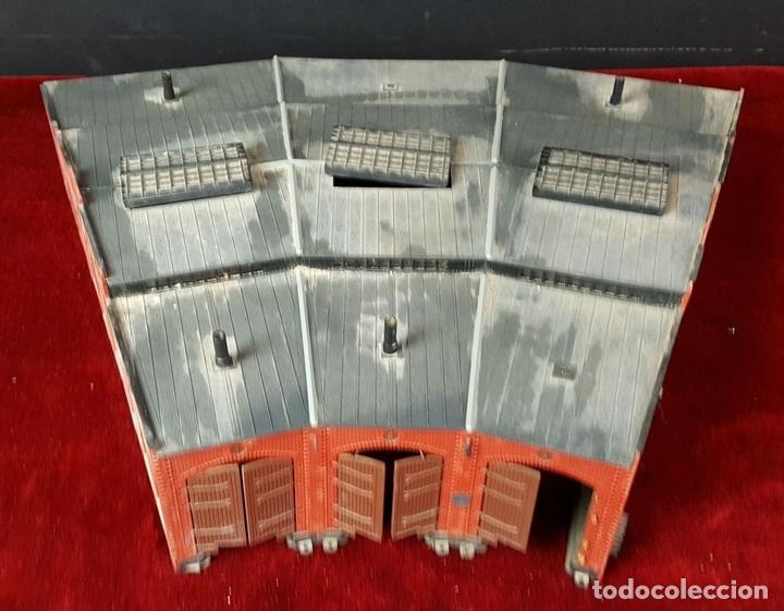 Trenes Escala: CONJUNTO DE CONSTRUCCIONES PARA MAQUETA FERROVIARIA. AÑOS 70/80. - Foto 2 - 88778172