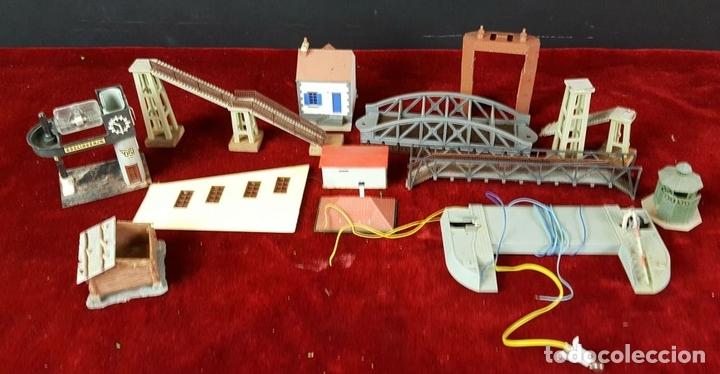 Trenes Escala: CONJUNTO DE CONSTRUCCIONES PARA MAQUETA FERROVIARIA. AÑOS 70/80. - Foto 25 - 88778172