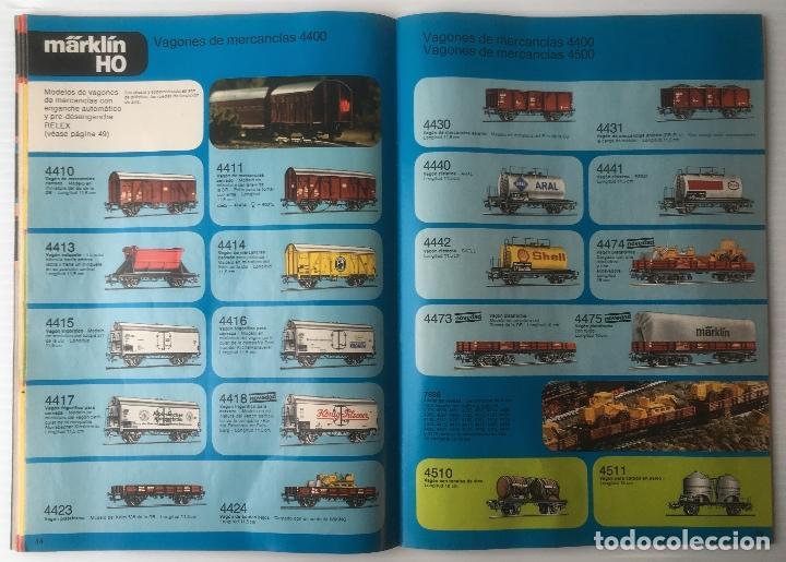 Trenes Escala: CATALOGO TRENES MARKLIN 1978. 120 PÁGINAS. EN ESPAÑOL. MUY BUEN ESTADO. - Foto 3 - 88892312