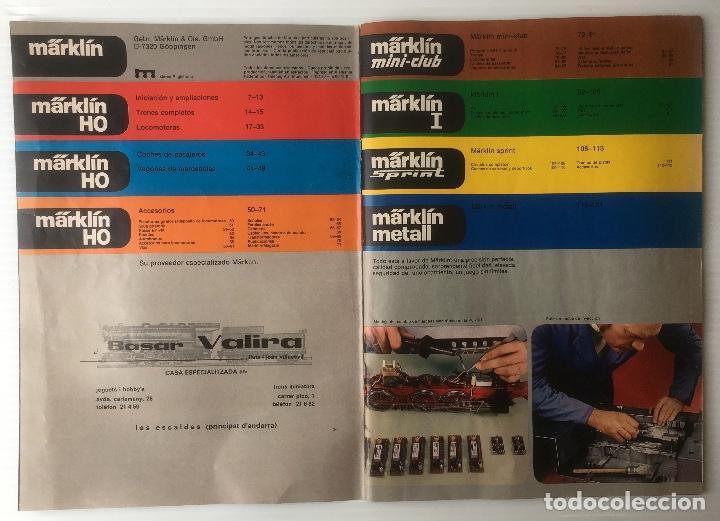 Trenes Escala: CATALOGO TRENES MARKLIN 1978. 120 PÁGINAS. EN ESPAÑOL. MUY BUEN ESTADO. - Foto 4 - 88892312