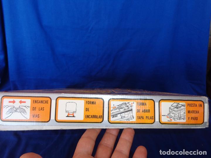 Trenes Escala: PEQUETREN - TREN ELÉTRICO A PILAS, FABRICADO POR SEINSA SPAIN,REF: 508, VER FOTOS Y DESCRIPCIÓN!! SM - Foto 7 - 227947725