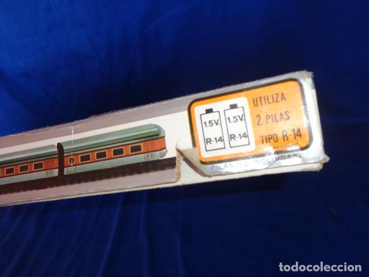 Trenes Escala: PEQUETREN - TREN ELÉTRICO A PILAS, FABRICADO POR SEINSA SPAIN,REF: 508, VER FOTOS Y DESCRIPCIÓN!! SM - Foto 8 - 227947725