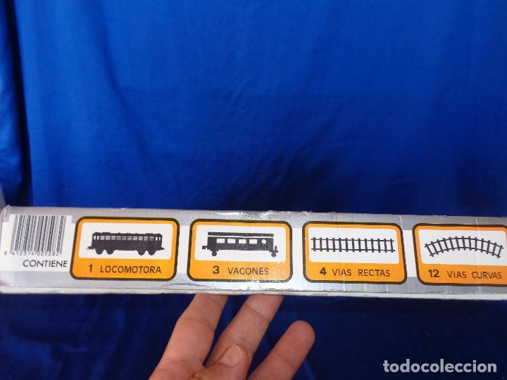 Trenes Escala: PEQUETREN - TREN ELÉTRICO A PILAS, FABRICADO POR SEINSA SPAIN,REF: 508, VER FOTOS Y DESCRIPCIÓN!! SM - Foto 9 - 227947725