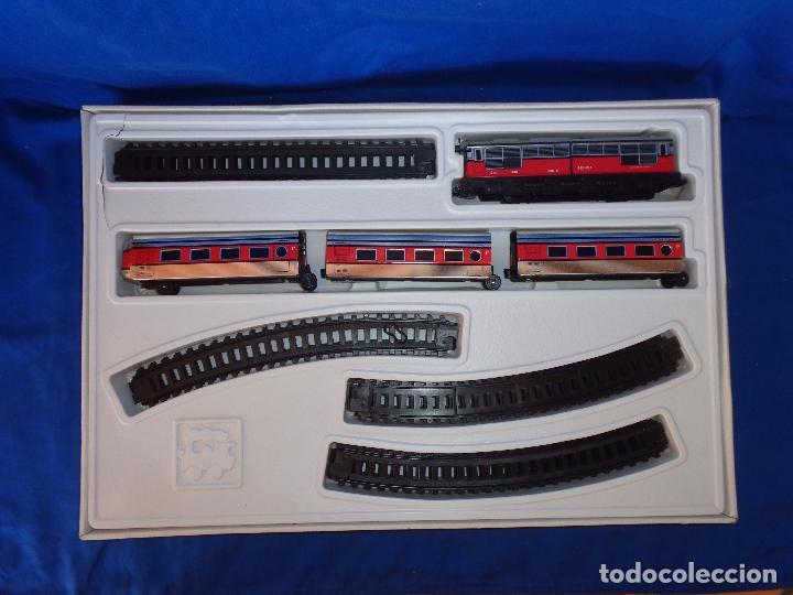 Trenes Escala: PEQUETREN - TREN ELÉTRICO A PILAS, FABRICADO POR SEINSA SPAIN,REF: 508, VER FOTOS Y DESCRIPCIÓN!! SM - Foto 10 - 227947725