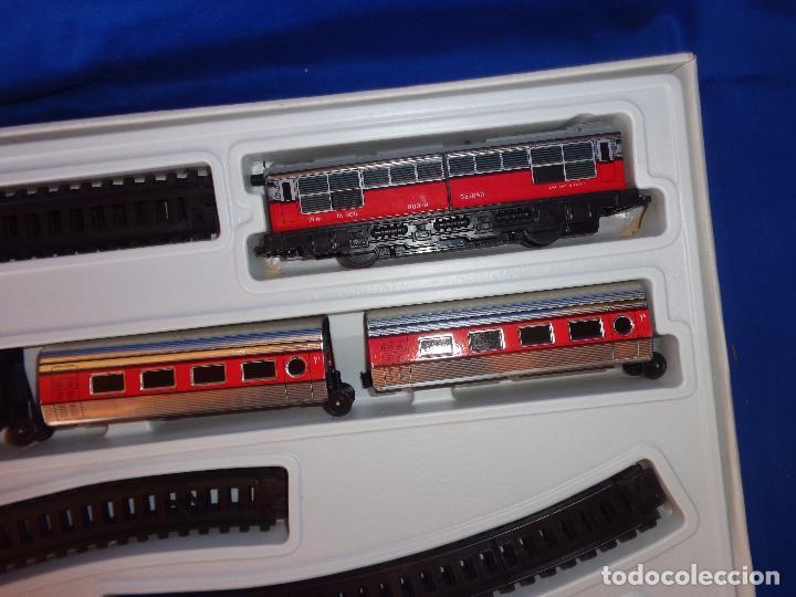Trenes Escala: PEQUETREN - TREN ELÉTRICO A PILAS, FABRICADO POR SEINSA SPAIN,REF: 508, VER FOTOS Y DESCRIPCIÓN!! SM - Foto 11 - 227947725