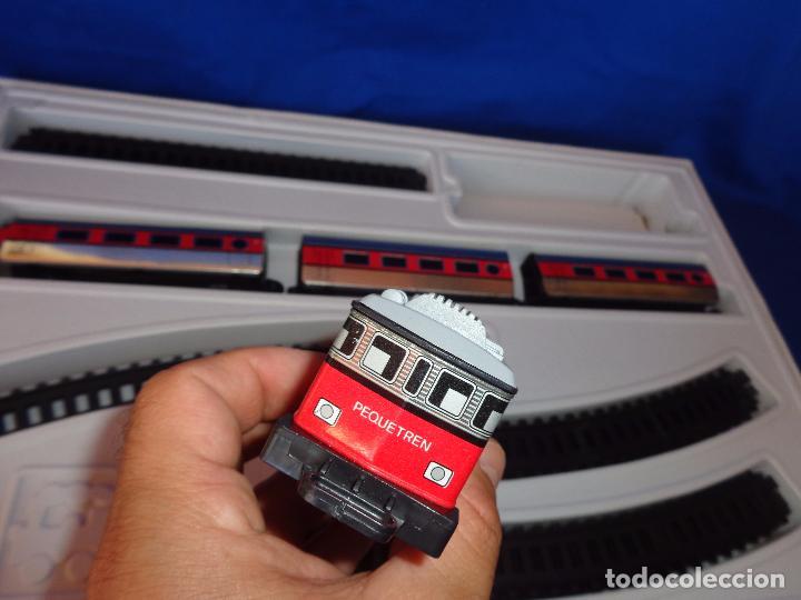 Trenes Escala: PEQUETREN - TREN ELÉTRICO A PILAS, FABRICADO POR SEINSA SPAIN,REF: 508, VER FOTOS Y DESCRIPCIÓN!! SM - Foto 13 - 227947725