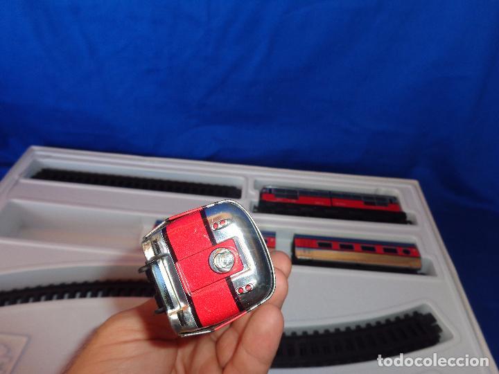 Trenes Escala: PEQUETREN - TREN ELÉTRICO A PILAS, FABRICADO POR SEINSA SPAIN,REF: 508, VER FOTOS Y DESCRIPCIÓN!! SM - Foto 22 - 227947725