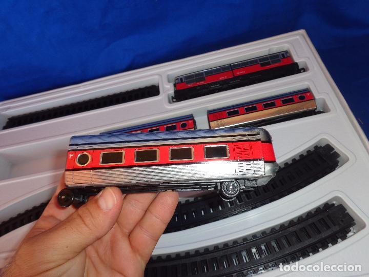 Trenes Escala: PEQUETREN - TREN ELÉTRICO A PILAS, FABRICADO POR SEINSA SPAIN,REF: 508, VER FOTOS Y DESCRIPCIÓN!! SM - Foto 24 - 227947725