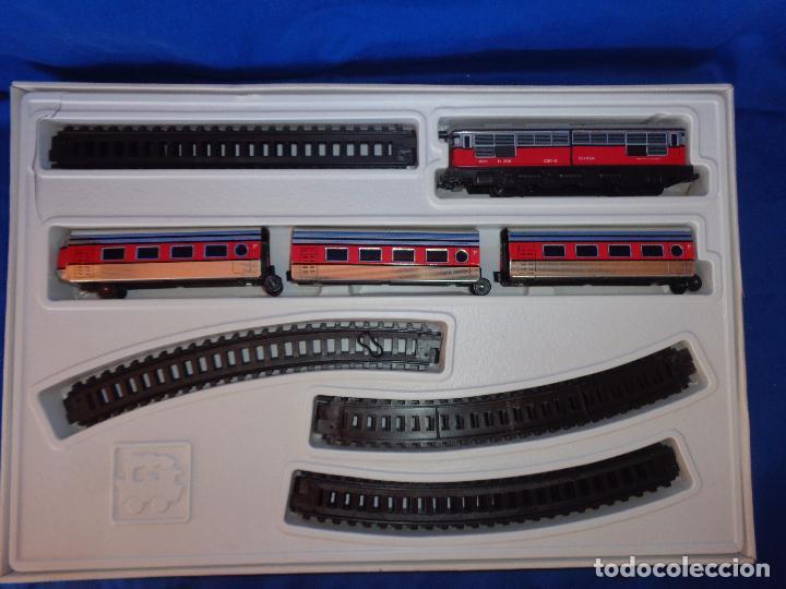 Trenes Escala: PEQUETREN - TREN ELÉTRICO A PILAS, FABRICADO POR SEINSA SPAIN,REF: 508, VER FOTOS Y DESCRIPCIÓN!! SM - Foto 25 - 227947725