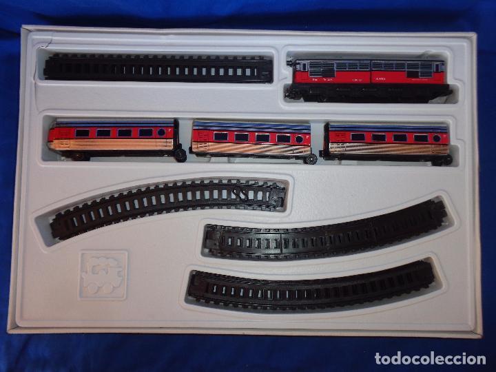 Trenes Escala: PEQUETREN - TREN ELÉTRICO A PILAS, FABRICADO POR SEINSA SPAIN,REF: 508, VER FOTOS Y DESCRIPCIÓN!! SM - Foto 27 - 227947725