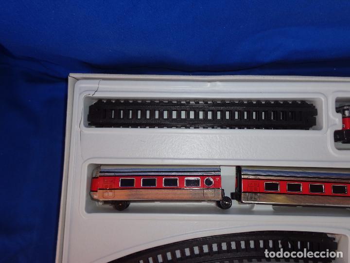 Trenes Escala: PEQUETREN - TREN ELÉTRICO A PILAS, FABRICADO POR SEINSA SPAIN,REF: 508, VER FOTOS Y DESCRIPCIÓN!! SM - Foto 28 - 227947725