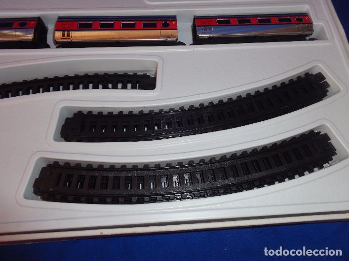 Trenes Escala: PEQUETREN - TREN ELÉTRICO A PILAS, FABRICADO POR SEINSA SPAIN,REF: 508, VER FOTOS Y DESCRIPCIÓN!! SM - Foto 29 - 227947725