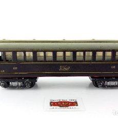 Trenes Escala: LOTE 026 - VAGÓN DE PASAJEROS DE LA FIRMA PAYÁ EN ESCALA S - SIN CAJA ORIGINAL. Lote 90046828