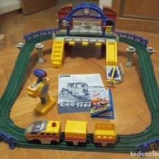 Trenes Escala: TREN INFANTIL GEOTRAX. SET ESTACION CENTRAL. Lote 90999095