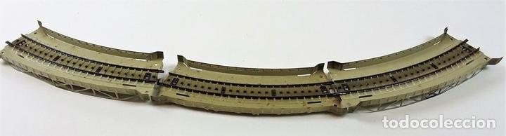 Trenes Escala: GRAN LOTE DE 235 VIAS MARKLIN Y ELECTROTEN. METAL. ESCALA H0. CIRCA 1960 (VER DESCRIPCION) - Foto 32 - 91430285