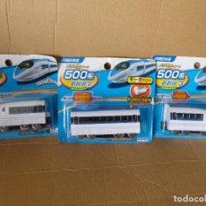 Trenes Escala: SHINKANSEN SERIE 500 (COMPLETO CON LAS 3 SECCIONES, NUEVO, IMPORTADO DE JAPÓN). Lote 92245265