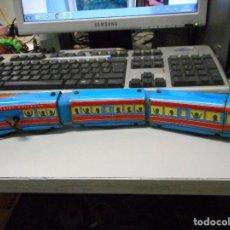 Trenes Escala: TREN A CUERDA HOJALATA YPLASTICO SCHYLLING RAILROAD. Lote 93149505