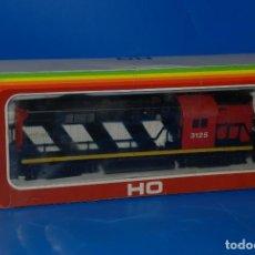 Trenes Escala: LOCOMOTORA NUEVA MEHANOTEHNIKA IZOLA MODELO 3125 CN EN CAJA DESCONOZCO SI FUNCIONA. Lote 95520335