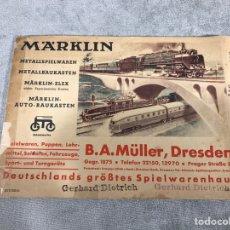 Trenes Escala: CATALOGO ANTIGUO DE TRENES - MARKLIN -. Lote 95887802