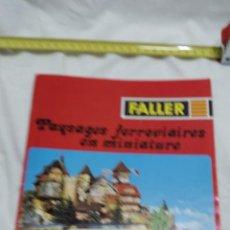 Trenes Escala: CATALOGO FALLER TRENES . Lote 95968123
