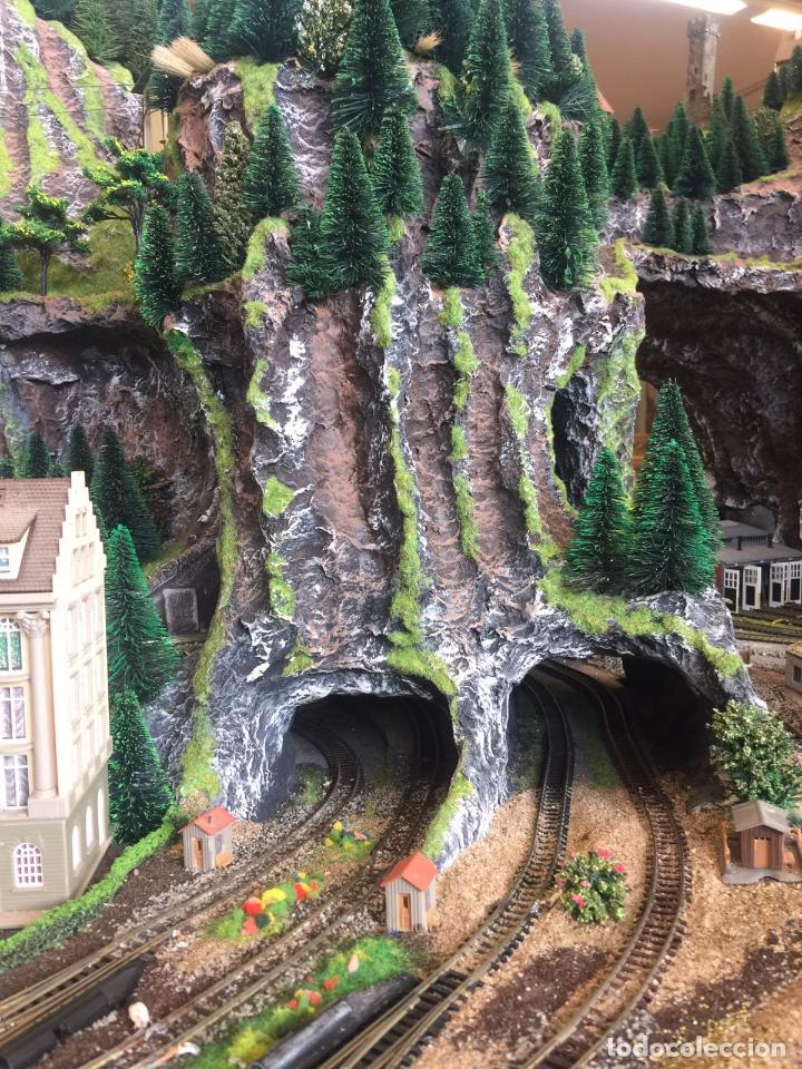 Trenes Escala: Extraordinaria y única MAQUETA DE TREN, gran tamaño, mas de 3 metros. Escala N. Leer mas... -vídeo- - Foto 4 - 95985167