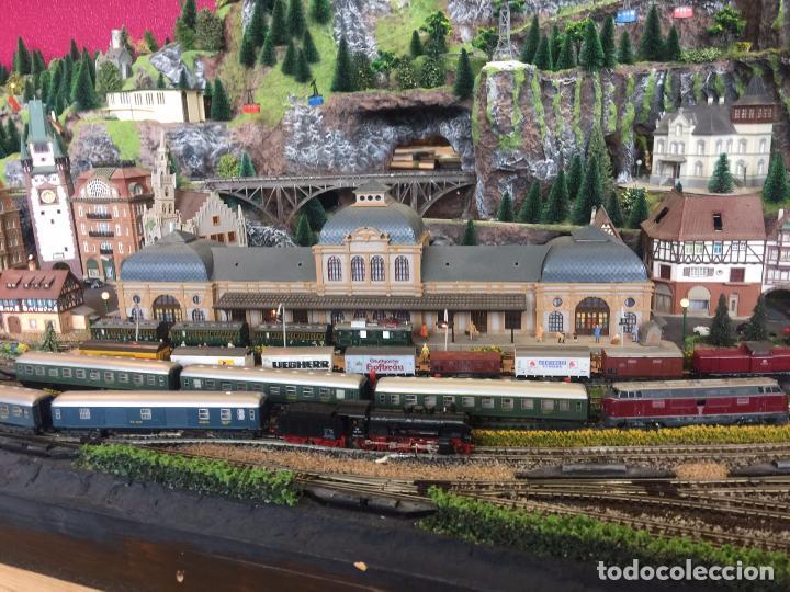 Trenes Escala: Extraordinaria y única MAQUETA DE TREN, gran tamaño, mas de 3 metros. Escala N. Leer mas... -vídeo- - Foto 5 - 95985167