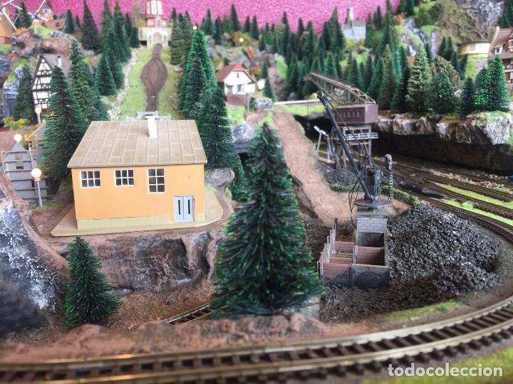 Trenes Escala: Extraordinaria y única MAQUETA DE TREN, gran tamaño, mas de 3 metros. Escala N. Leer mas... -vídeo- - Foto 7 - 95985167
