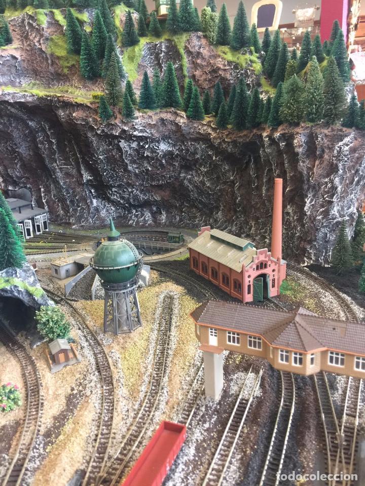 Trenes Escala: Extraordinaria y única MAQUETA DE TREN, gran tamaño, mas de 3 metros. Escala N. Leer mas... -vídeo- - Foto 8 - 95985167