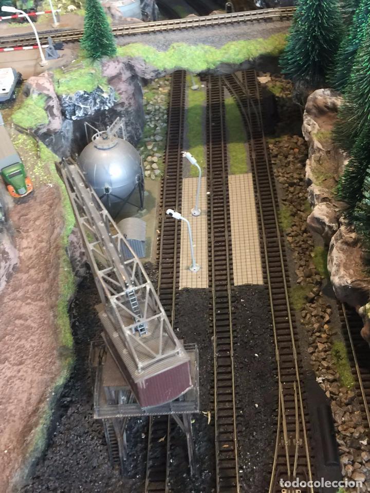Trenes Escala: Extraordinaria y única MAQUETA DE TREN, gran tamaño, mas de 3 metros. Escala N. Leer mas... -vídeo- - Foto 12 - 95985167