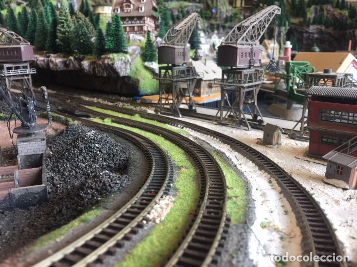 Trenes Escala: Extraordinaria y única MAQUETA DE TREN, gran tamaño, mas de 3 metros. Escala N. Leer mas... -vídeo- - Foto 35 - 95985167