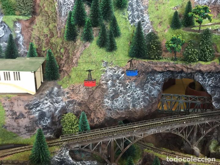 Trenes Escala: Extraordinaria y única MAQUETA DE TREN, gran tamaño, mas de 3 metros. Escala N. Leer mas... -vídeo- - Foto 42 - 95985167