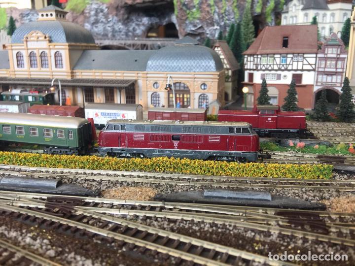 Trenes Escala: Extraordinaria y única MAQUETA DE TREN, gran tamaño, mas de 3 metros. Escala N. Leer mas... -vídeo- - Foto 44 - 95985167