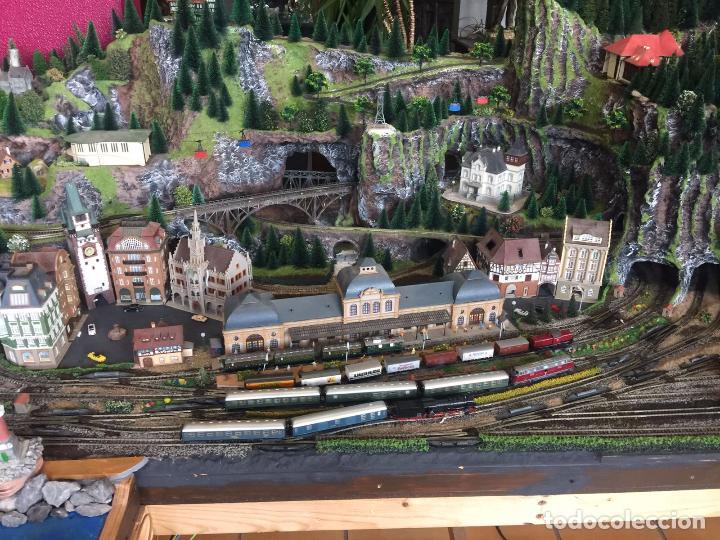 Trenes Escala: Extraordinaria y única MAQUETA DE TREN, gran tamaño, mas de 3 metros. Escala N. Leer mas... -vídeo- - Foto 45 - 95985167