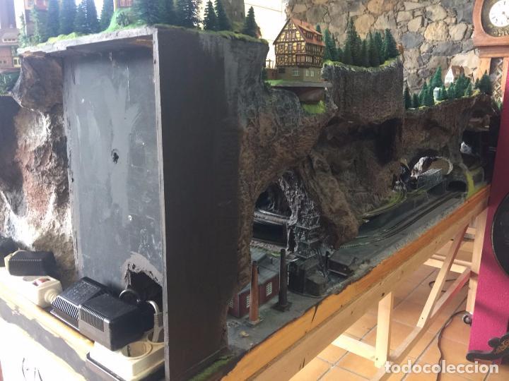 Trenes Escala: Extraordinaria y única MAQUETA DE TREN, gran tamaño, mas de 3 metros. Escala N. Leer mas... -vídeo- - Foto 56 - 95985167