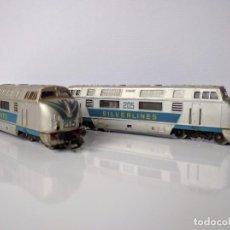 Trenes Escala: COLECCIÓN DE 59 PIEZAS DE MATERIAL FERROVIARIO DE LA ESCALA TT DE LA MARCA ZEUKE. Lote 96526183