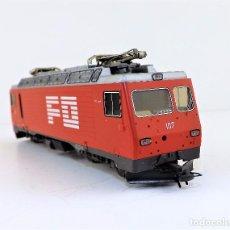 Trenes Escala: BEMO. LOCOMOTORA H0 M TREN ALPINO. Lote 97190171
