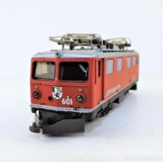 Trenes Escala: BEMO. LOCOMOTORA DIGITAL H0 M TREN ALPINO. Lote 97191087