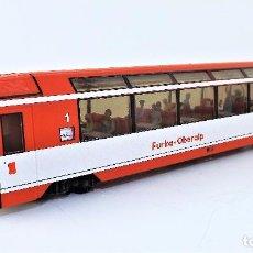 Trenes Escala: BEMO. COCHE PANORAMICO H0 M TREN ALPINO. Lote 97191423