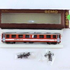 Trenes Escala: BEMO. COCHE 1ª CLASE. H0 M TREN ALPINO. Lote 97191807