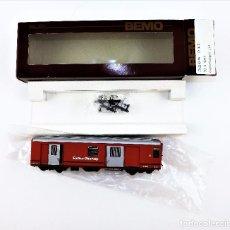 Trenes Escala: BEMO. VAGÓN PARA EQUIPAJES. H0 M TREN ALPINO. Lote 97192007