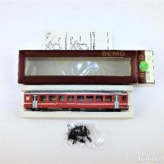 Trenes Escala: BEMO. COCHE DE 2ª CLASE. H0 M TREN ALPINO. Lote 97192247