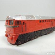 Trenes Escala: LOCOMOTORA DE TREN DE ESCALA . Lote 97400911