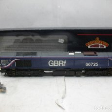 Trenes Escala: BACHMANN REF: 32-978 - LOCOMOTORA DIESEL GBRF 66725 FIRST CORRIENTE CONTINUA - ESCALA H0. Lote 98489547
