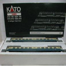 Trenes Escala: KATO - AUTOMOTOR ETA150 DE LA DB 515512-2 CORRIENTE CONTINUA - ESCALA H0. Lote 98932771
