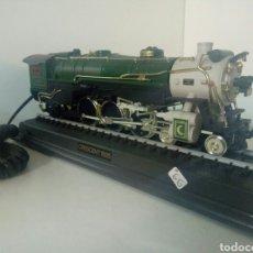 Trenes Escala: CURIOSO TELEFONO TREN CON SONIDOS LOCOMOTORA CRESCENT 1925. Lote 101014178