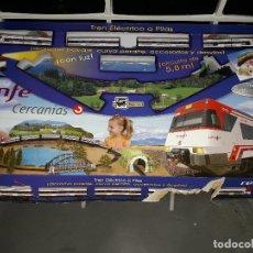 Trenes Escala: PEQUETREN TALGO RENFE CERCANIAS FUNCIONANDO A PILAS CON LUZ VER FOTOS Y DESCRIPCION. Lote 101495531