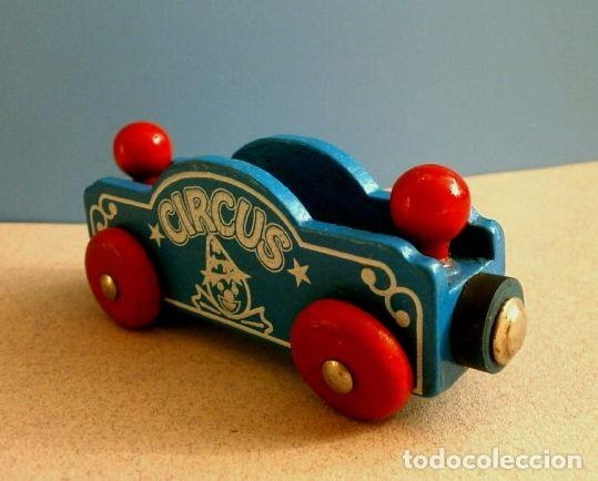 Para Vagon Heros En De Bri Tren Subasta Madera Goula Circo Vendido rCoedxBW