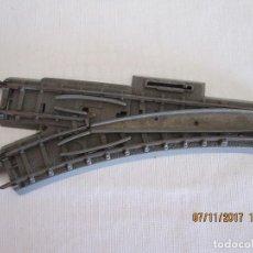 Trenes Escala: ANTIGUO CAMBIO DE VIA A IZQUIERDA TRIANG. Lote 102725535