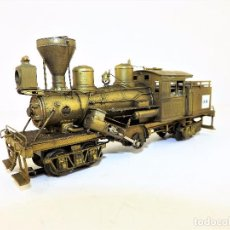 Trenes Escala: CLIMAX LOCOMOTORA AC LATÓN H0. Lote 103112703